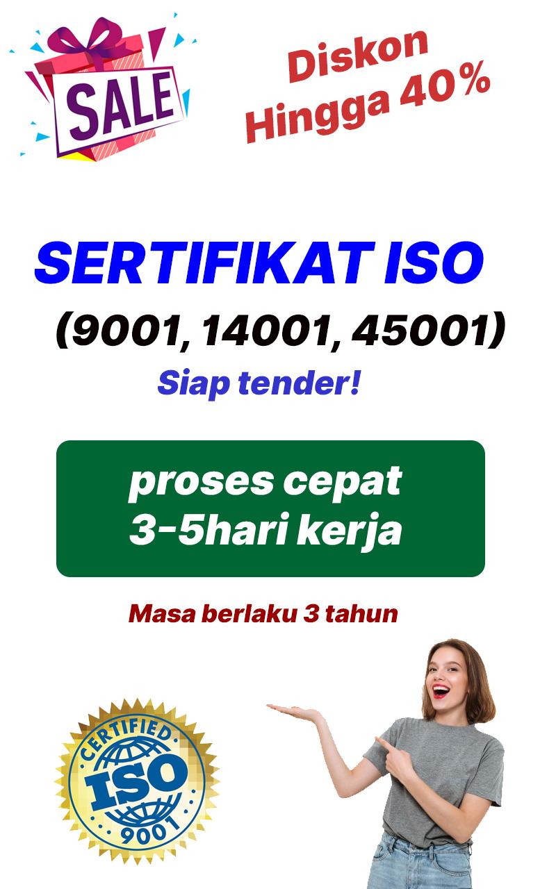Promo Paket ISO Lengkap